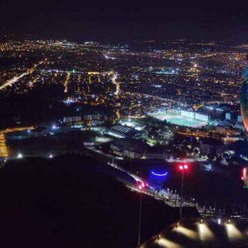 Pamukkale'den Azerbaycan'a selam