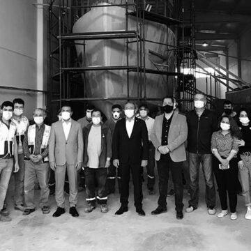 Tin ve Erdoğan'dan Denizli'nin ilk tersanesine destek ziyareti