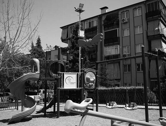 Merkezefendi'de parklara güvenlik kamerası