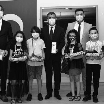 Türkiye okullar arası zeka oyunları şampiyonasında çifte sevinç