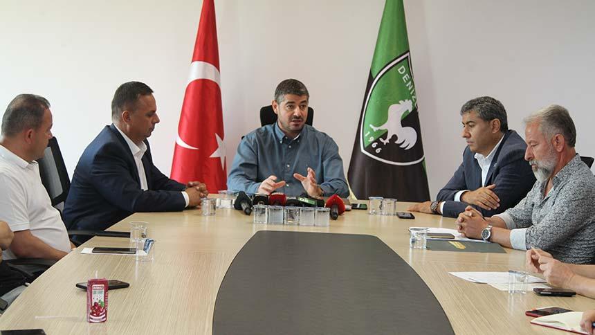 Denizlispor yönetimi kongre kararı aldı