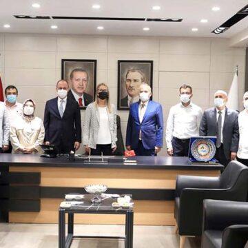 AK Parti Yerel Yönetimler Başkan Yardımcısından Başkan Örki'ye ziyaret