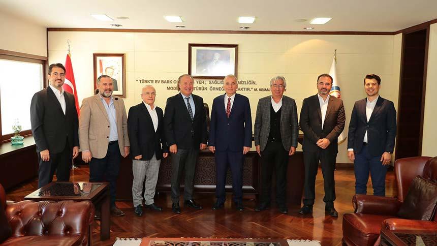 DENTUROD, Başkan Osman Zolan'ı ziyaret etti