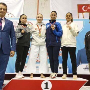 Damla Su Türemen Türkiye Şampiyonu