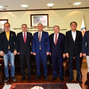Moldova Büyükelçisi'nden Başkan Zolan'a ziyaret