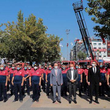 Büyükşehir İtfaiye şehre güven veriyor