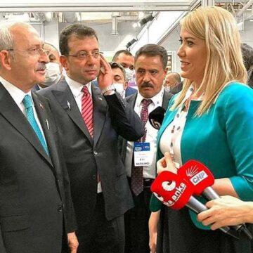 Kılıçdaroğlu, Merkezefendi Belediyesi standını gezdi