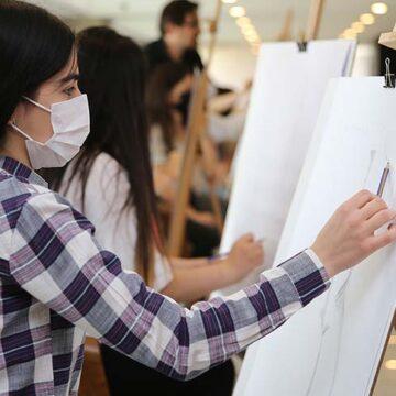 Merkezefendi'de akademik resim kursu kayıtları başladı
