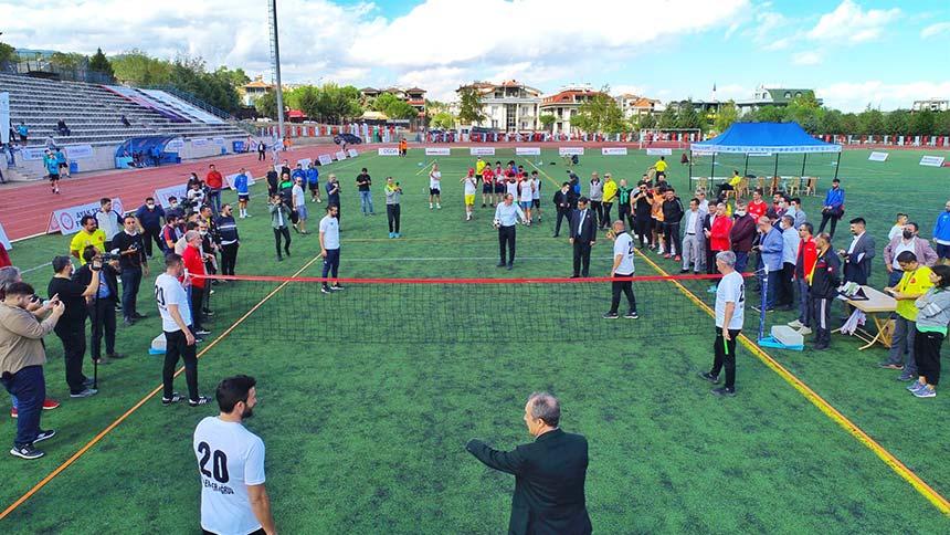 Ayak Tenisi şampiyonu Pamukkale'de belirlenecek
